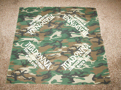 Madonna - Drowned World Tour 2001 Scarf Bandana RARE