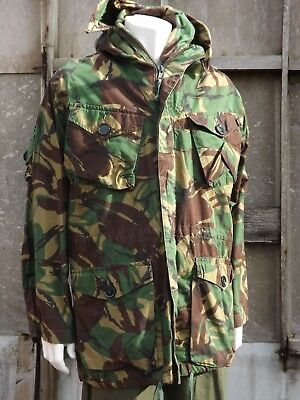 Genuine Vintage British Army Windproof Smock Arctic Issue Camouflage DPM 303