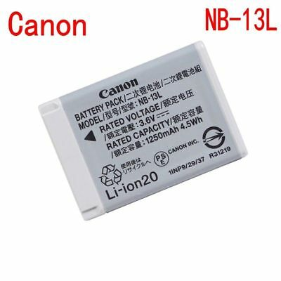 Genuine Canon NB-13L Battery for Canon PowerShot SX720 G7X MARK II G5 G9X
