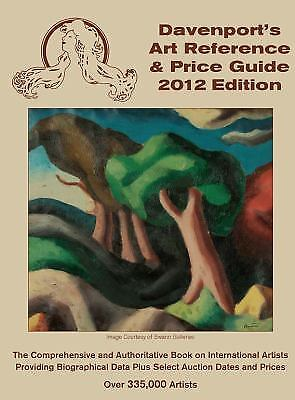 Davenport's Art Reference and Price Guide 2012  (ExLib) by Alison Becker