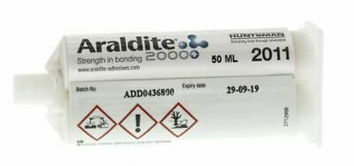 Araldite 2011 50 ml Yellow Dual Cartridge Epoxy Adhesive for Polyamide