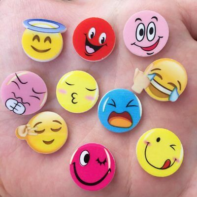 MIX 20pcs 16mm Round Acrylic sheet Cute expression Flatback kids scrapbook craft