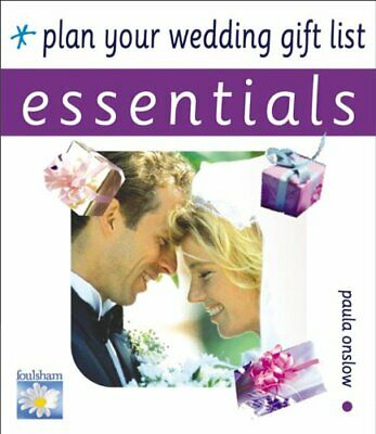 Plan Your Wedding Gift List by Onslow, Paula Paperback Book The Cheap Fast Free