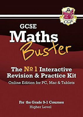 MathsBuster: GCSE Maths Interactive Revision (Grade 9-1 Course) ... by CGP Books