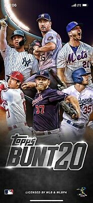 Topps Bunt Lot Of 9 *Digital* Cards YOU PICK ANY 9 OF MY CARDS GOLD READ DESCRIP