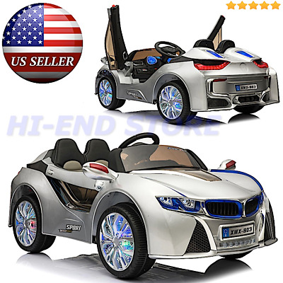 Bmw I8 Style Ride On Electric Toy Car For Kids W Parental Remote