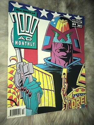 2000 AD best of 61 1990 Sci Fi Judge Dredd Wally Squad Starborn Thing 2000AD