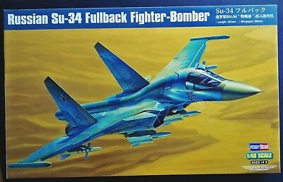 Hobbyboss 81756 Russian Su-34 Fullback Fighter Bomber in 1:48