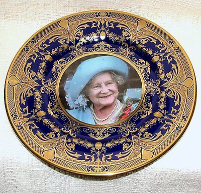 MIB CAVERSWALL Limited Edn PRESTIGE PLATE Centenary 100th Birthday Queen Mother