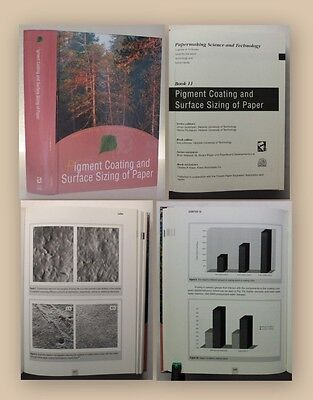 Lehtinen Pigment Coating and Surface Sizing of Paper Books 11 2000 Technik xy