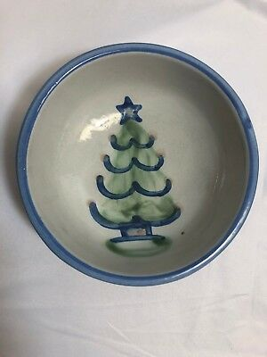 "M. A. Hadley Christmas Tree Cereal Bowl, 5.5"" x 2.0"""