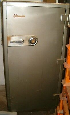 Large 1950's Mosler Safe w/Known Combination Lock