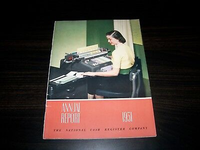 NATIONAL CASH REGISTER ANNUAL REPORT, 1951, NCR, Dayton, Ohio
