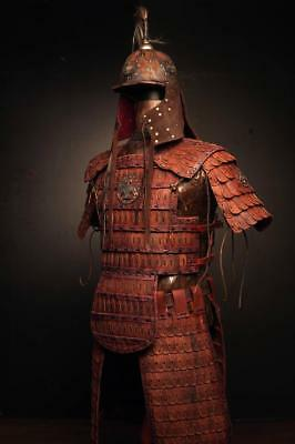 Medieval Mongol Leather FULL Body Armor Kit; Armor Costume tatar armor Costume