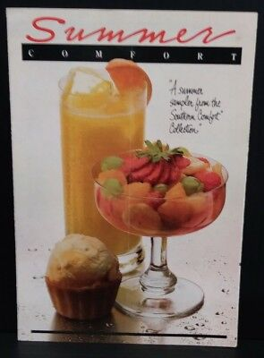 Southern Comfort 1983 Summer recipes booklet