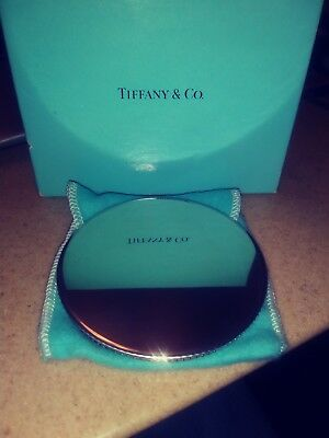 Tiffany & Co. Stamped Compact Mirror Purse Mirror 3 Inches