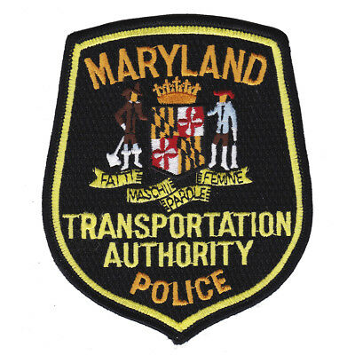 Maryland Transportation Authority Police Patch MD