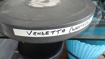 16 Mm Film  Vendetta  Western