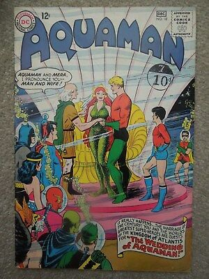 Aquaman #18 (Vol 1 1964) - Wedding of Aquaman and Mera