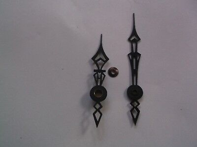Pair Of Steel Hands From An Old Enfield  Mantle Clock  Ref K3