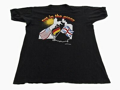 Out In The Green 1987 Germany Tour Rock Vintage Music Tshirt Clothing Top