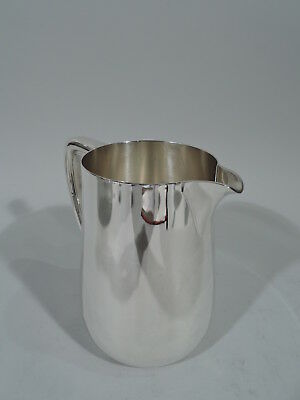 Tiffany Water Pitcher - 22734 - Art Deco Modern - American Sterling Silver