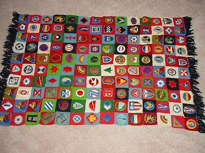 WWII Handmade Patch Blanket