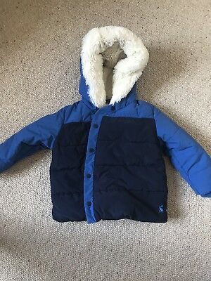 Joules Boys Padded Coat 18-24 Months