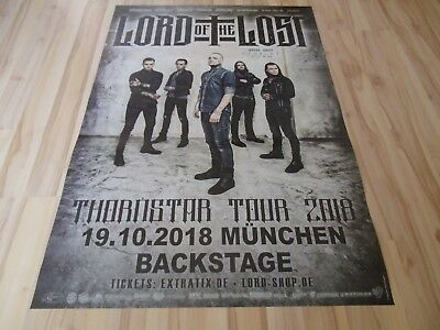 Lord Of The Lost Konzert-Tour-Plakat-Poster 19.10.2018 München
