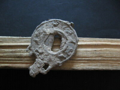 ANCIENT ROMAN ENGRAVED LEAD MIRROR WITH ANIMALS 1-3 ct. A.D.