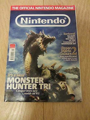 Official Nintendo Magazine Issue 55 May 2010  Monster Hunter Tri On The Cover