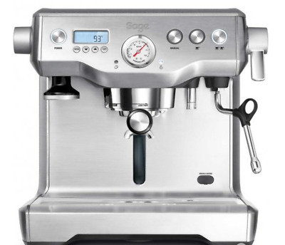 Sage by Heston Blumenthal BES920UK The Dual Boiler Coffee Machine Silv RRP £1200
