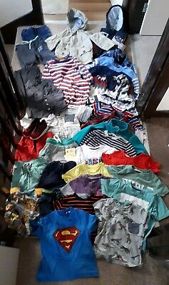 Massive Bundle Of Boys Clothes 2-3years #314 ADIDAS THOMAS GAP NEXT H&M SUPERMAN