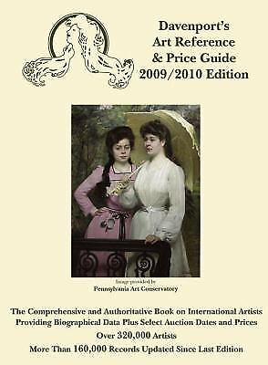 2009/2010 Davenport's Art Reference and Price Guide  (ExLib)