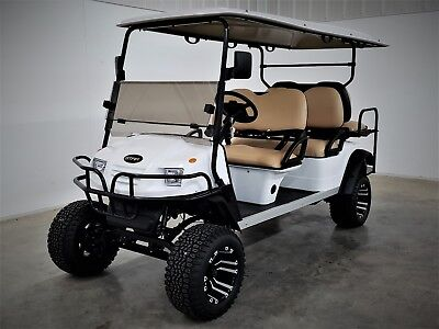 2019 New Star Sport 6 Seater Lifted Off Road  25 Mph 4 Yr Wrnty Wow! Golf Cart
