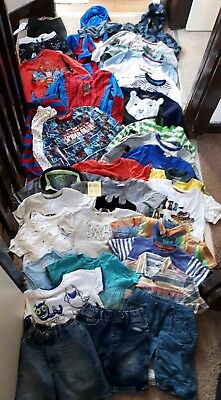 Massive Bundle Of Boys Clothes 4-5years #310 ZARA H&M KENZO M&S SPIDERMAN GAP