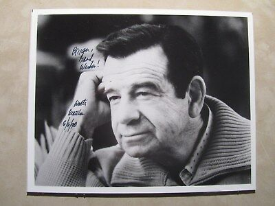 autographed 8x10 photo signed & inscribed by actor & commedian WALTER MATTHAU
