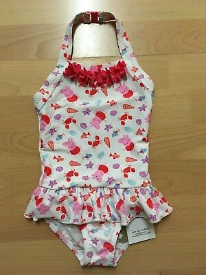 BNWT Marks And Spencer Peppa pig Swimsuit / Swimming Costume For A Girl 18-24m