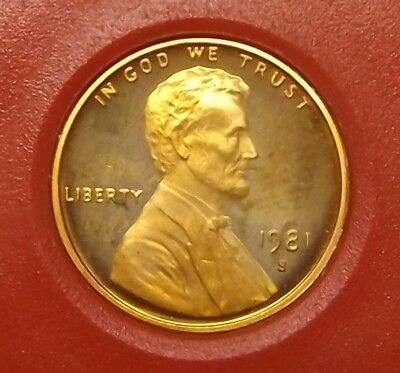 1981 S Lincoln Cent / Proof / type 1 (6604a)4