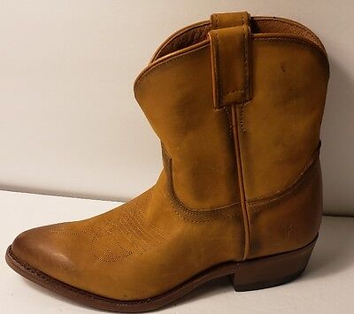 f18bf3986d0 $258 NEW Women's Frye Western Billy Short Ankle Boots 71440 Cognac size 7 8  8.5