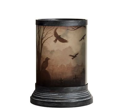 Pottery Barn SPOOKY HURRICANES-SET OF TWO-ONE CROW AND ONE CAT-BRAND NEW