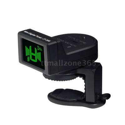 JOYO Digital LCD Clip-on Tuner for Acoustic Electric Guitar Violin Bass R0X1