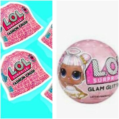 LOL Surprise Fashion Crush Series 4 Eye Spy 3 Surprise (1 pack) AND Glam Glitter