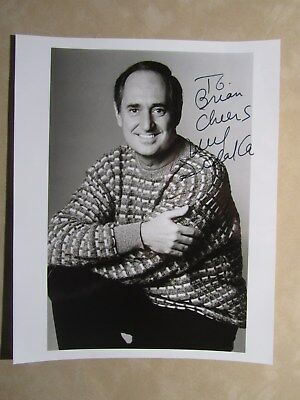 8x10 photo hand signed & inscribed by entertainers NEIL SEDAKA