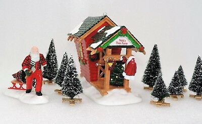 Dept 56 Snow Village NICK'S TREE FARM Retired 54871