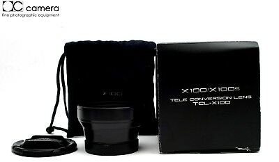 Very Clean Fujifilm TCL-X100 1.4x Tele Conversion Lens, Black for X100  #24248