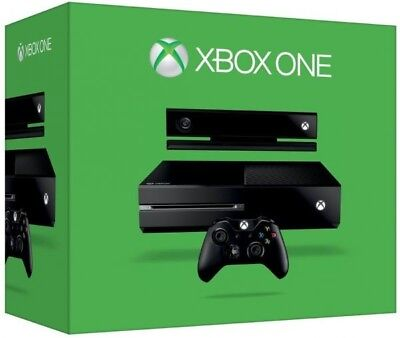 Microsoft Xbox One Black 500GB Console with Kinect. Excellent condition!
