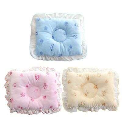 Newborn Baby Cotton Soft Bed Pillow Child Concave Design Head Protection Pillows