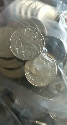 $1 ONE DOLLAR COIN 2018/2019 A/U/S MINTMARKS SEALED RAM BAG (20 Coins)