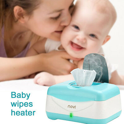 Portable Wipe Warmer and Baby Wet Wipes Dispenser Case with Changing Light